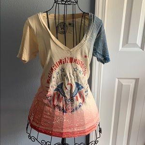 Affliction women's American t shirt